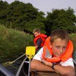 descente en canoë en famille