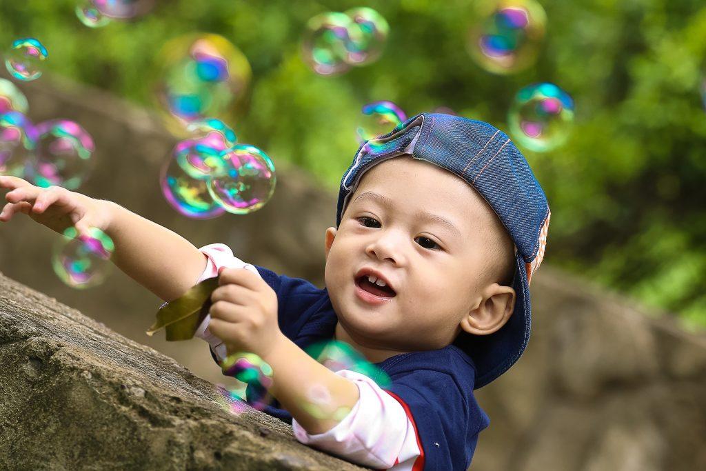 Les bulles de savon
